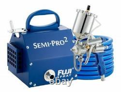 Fuji Spray Semi-PRO 2 Gravity HVLP Spray System and Pro Accessory Bundle