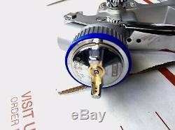 Genuine SATA minijet 4400 B RP 1.0 with RPS Disposable HVLP Mini Detail Spray Gun