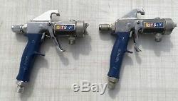 Graco 4900 HVLP Spray System & ProComp Compressor with Extra Air Hoses Cups & Guns