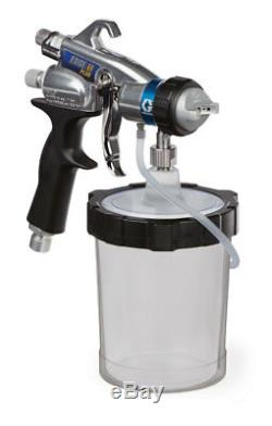 Graco 7.0 Turbine with two HVLP EDGE II PLUS Guns, FlexLiner Cup