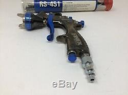 Graco-Sharpe FX1000 FX3000 HVLP Paint Spray Gun PPS/Devilbiss/Sata Base-Clear