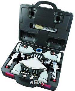 Gravity Feed Spray Gun HVLP and Standard Paint Sprayer Air Fed Auto Car