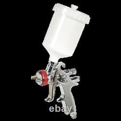 HVLP746 Sealey HVLP Gravity Feed Spray Gun 1.3mm Set-Up HVLP Spray Guns