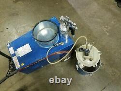 HVLP GRACO Croix Air Cx-12 Turbine Paint Sprayer With Turbine Compressor