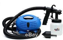 HVLP Spray Gun Paint Kit Turbine Sprayer Electric 3 Way Nozzle Painting Tool