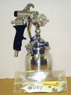 HVLP Turbine Spray Gun Fits Graco Fuji AT Titan Tech Apollo 1.5 mm Tip