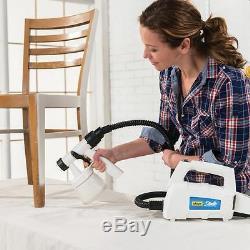 Home Decor HVLP Paint Sprayer Gun and Spray Tent Combo Lightweight Portable