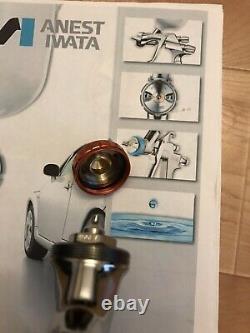 Iwata IWA 5660 1.3MM LPH400-LVX HVLP Compliant Spray Gun New