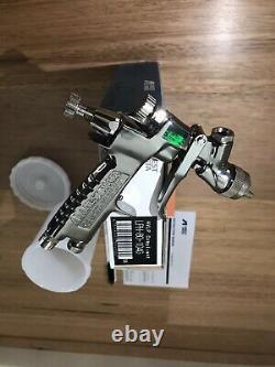 Iwata LPH80 1.0 Tip E4 Air Cap HVLP Mini Gravity Spray Gun
