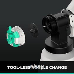 Litheli 40V HVLP Paint Sprayer Gun for Home Car 2.5Ah Battery & Charger Included