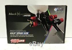 (MA3) Spectrum Black Widow BW-HVLP-1.7 Professional Air Spray Gun