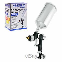 Master Pro 44 Series High Performance HVLP Spray Gun with 1.3mm Tip & Regulator