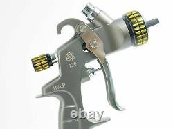 NEW ATOM X20 Professional Spray Gun HVLP Solvent/Waterborne with FREE GUNBUDD