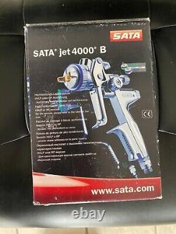 NEW SATA Jet 4000 B HVLP 1.3 Spray Gun Carl Avery Edition