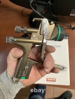 NEW SATA jet X 5500 HVLP 1,3 O-NOZZLE SPRAY GUN