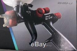 NEW Spectrum Black Widow BW-HVLP-1.7 Professional HVLP Spray Gun 56152
