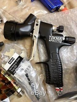 New DeVilbiss TEKNA Gti ProLite Gun TE20 1.3 Hvlp Spray gun Not Sata UK made