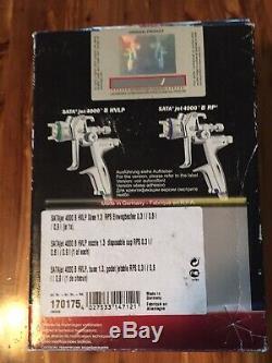 New! SATA JET 4000 B HVLP 1.3 New
