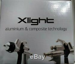 New Walcom Slim Xlight Hvlp Spray Gun USA Edition 1.5 Nozzle