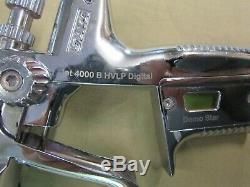 Nice SATA Jet 4000 B HVLP Digital Paint Spray Gun 1.3 Tip Demo Star withCanister