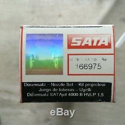 Nozzle Set SATA Jet 4000 B Hvlp 1,5