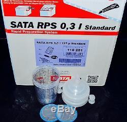 OUT OF STOK DONT BUYSata Jet HVLP RP Spray Paint Gun RPS Cups 0,3liter 8oz 2cups