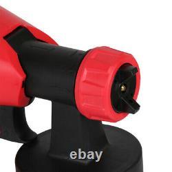 Paint Sprayer Spray Gun Airless HVLP Electric 800W Car Spraygun Fence Wall Floor