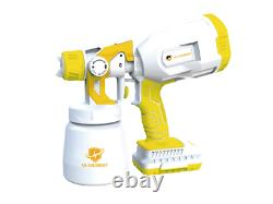 Paint Sprayers Gun Multifunction/ Sanitize and cleaning Color WhiteYellow