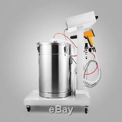 Powder Coating System with Spraying Gun WX-101 Electrostatic Machine Spray