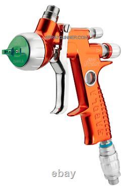 Premium paint spray gun Sagola 4600 Xtreme DIGITAL DVR HVLP with gravity cup 1.3