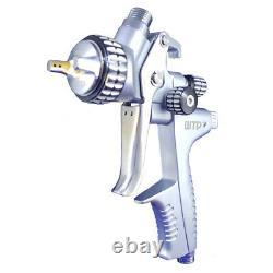 Profesional Gravity Spray Gun 1.3 Clear/Barniz Pistola de pintar + Air Regulator