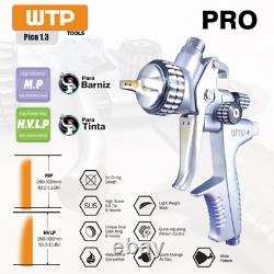 Profesional Gravity Spray Gun 1.3 Clear/Barniz Pistola de pintar Super Light