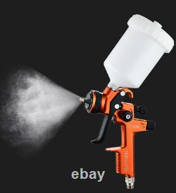 Professional HVLP Spray Gun 1.3 mm Auto Paint Sprayers Car