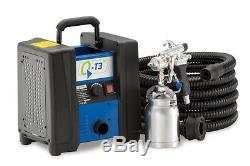 Q-Tech HVLP Turbine Spraygun & Hose 110v HVLP