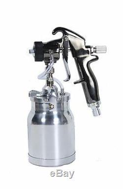 QualSpray HVLP Turbine Spray Gun 1 qt cup 0.8mm BRAND NEW! (Bleeder Style)