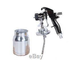 QualSpray HVLP Turbine Spray Gun 1 qt cup 1.4mm BRAND NEW! (Bleeder Style)