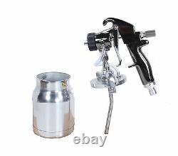 QualSpray HVLP Turbine Spray Gun 1 qt cup 1.8mm BRAND NEW! (Bleeder Style)