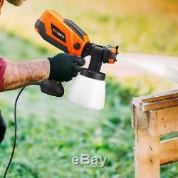 REXBETI 700Watt High Power Paint Sprayer, 1000ml/min HVLP Home Electric Spray Gun