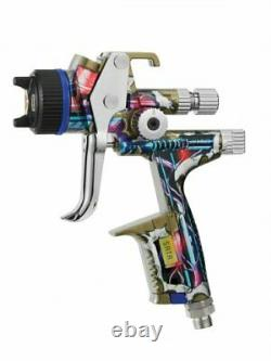 SATA 1112367 BIONIC X5500 HVLP 1.3 O limited edition paint gun withrps cup