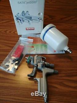SATA JET 5000 B HVLP Standard Paint Spray Gun, 1.3