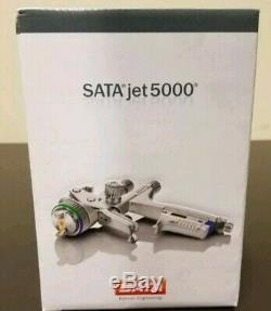 SATA JET 5000 B HVLP Standard Paint Spray Gun, 1.4 with RPS Cups 209882 NEW