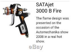 SATA Jet 3000 B HVLP (1.3) Fire Special Edition