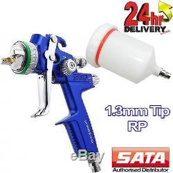SATA Jet 3000 B HVLP Nozzle 1.3mm Primer/Paint Spray Gun Limited Edition Blue