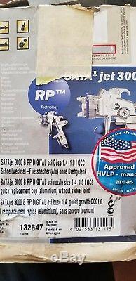 SATA Jet 3000 HVLP Digital Paint Sprayer Spray Gun