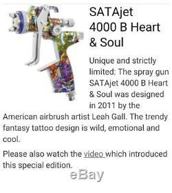 SATA Jet 4000 B HVLP (1.3) Heart & Soul Special Edition