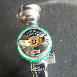 SATA Jet 5000 B HVLP (1.5) Digital (Brand New 1.3 hvlp nozzle tip included)