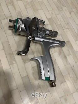 SATA Jet 5000 B Hvlp 1.3 Spray Gun Like New! Rps Cups New