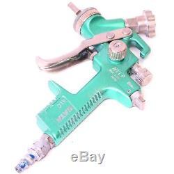 SATA KLC HVLP Air Pneumatic Anodized Teal Green Spray Gun 1.7 Tip