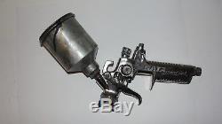 SATA Mini Jet 3 HVLP Air Paint Sprayer Spray Gun with Tip & Hopper Cup Germany