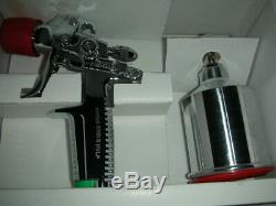 SATA Minijet 3000 B HVLP Spray Gun 1.0 SR Nozzle Set and. 15L Aluminum CUP NOS